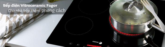 Bếp điện Vitroceramic cho nhà bếp thêm phong cách