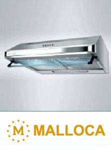 Các dòng máy hút mùi Malloca thông dụng